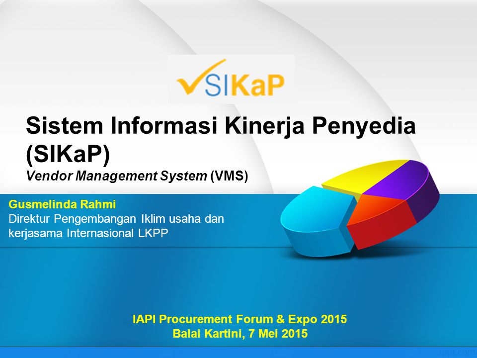IAPI Procurement Forum & Expo 2015