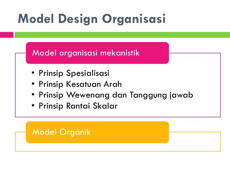 Model Design Organisasi