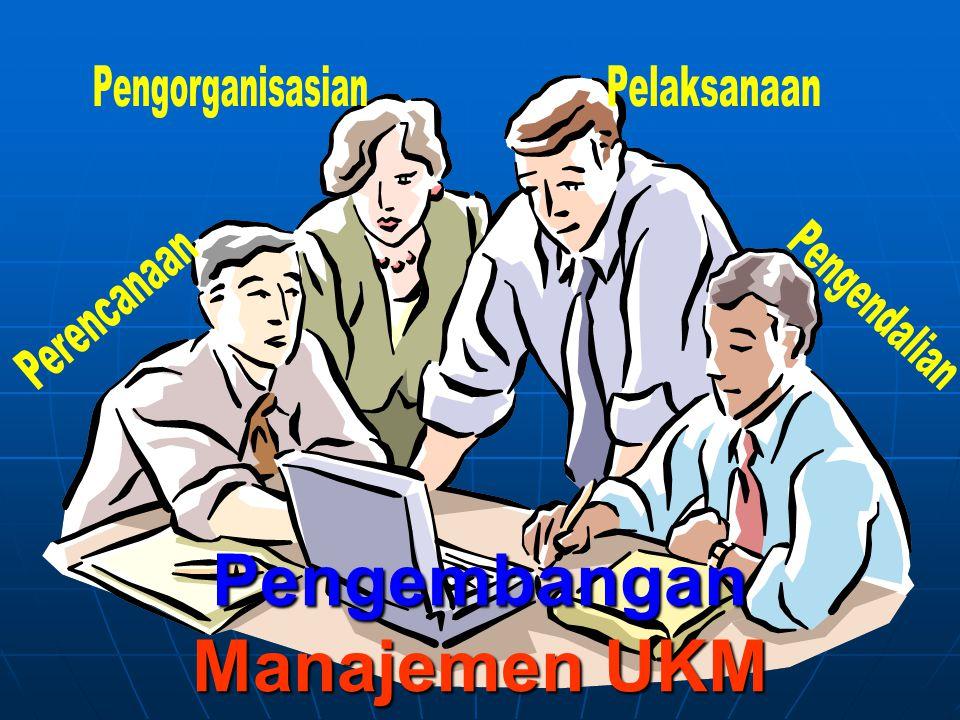 Pengembangan Manajemen UKM