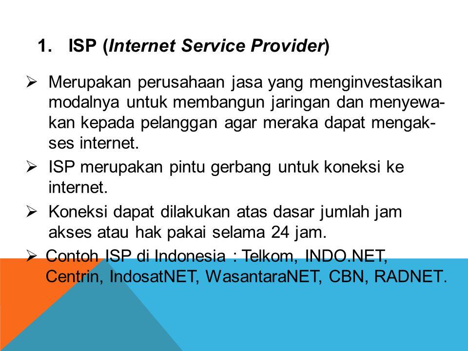 ISP (Internet Service Provider)