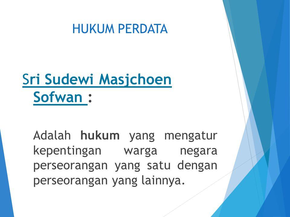 Sri Sudewi Masjchoen Sofwan :