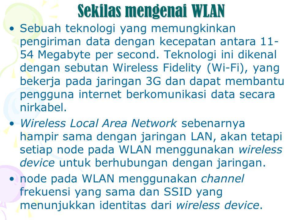 Sekilas mengenai WLAN