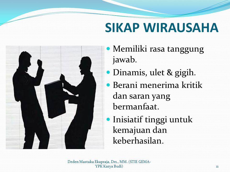 Deden Mastaka Ekapraja, Drs., MM. (STIE GEMA-YPK Karya Budi)