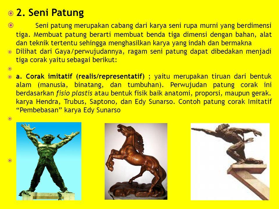 2. Seni Patung
