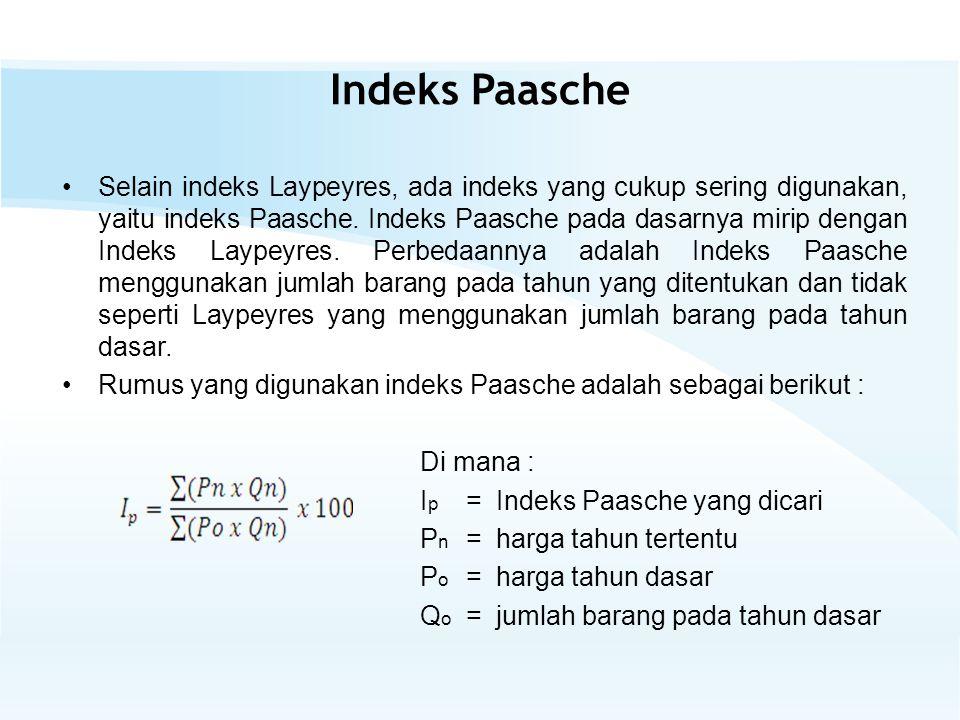 Indeks Paasche