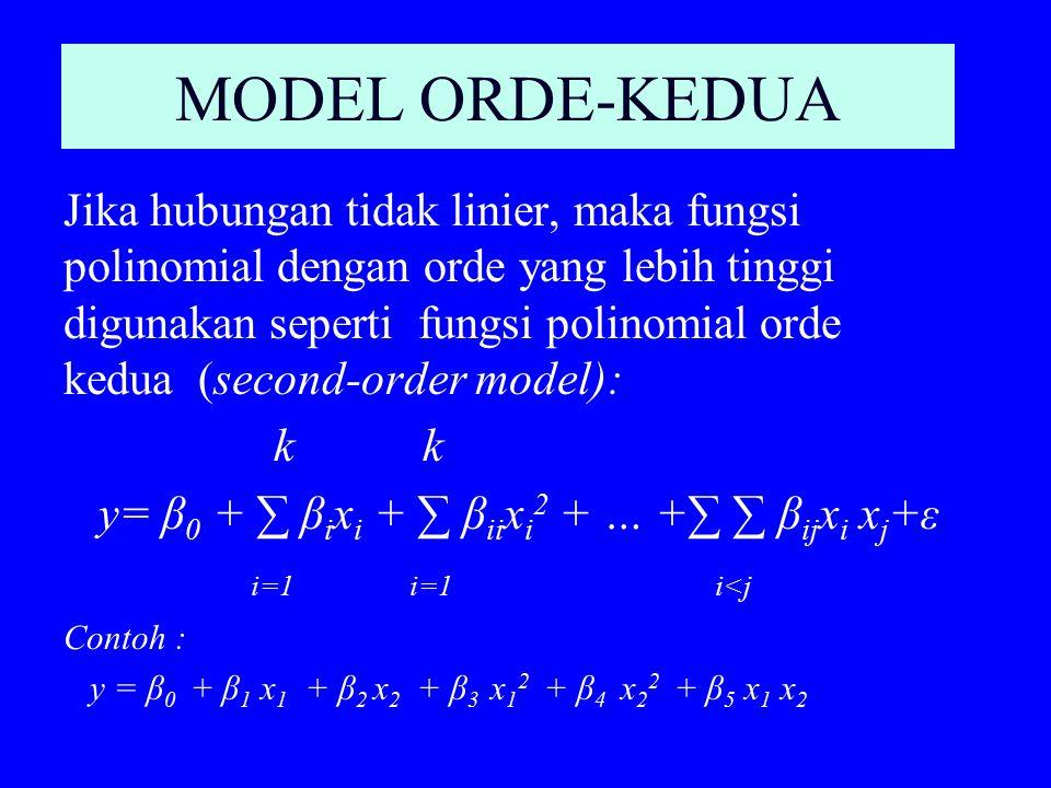 MODEL ORDE-KEDUA