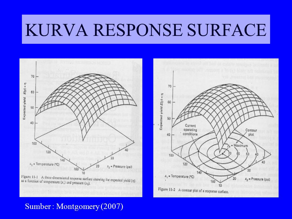 KURVA RESPONSE SURFACE