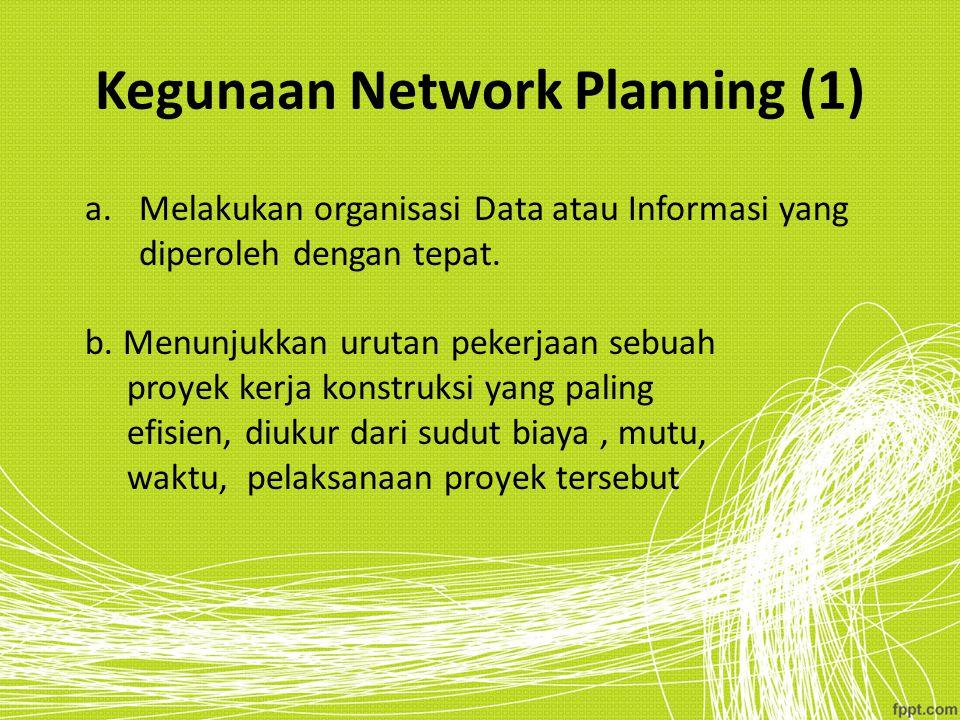 Kegunaan Network Planning (1)