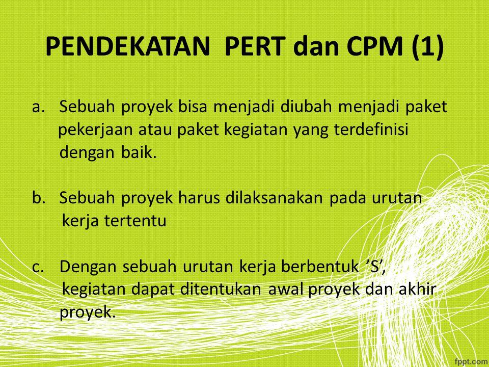 PENDEKATAN PERT dan CPM (1)