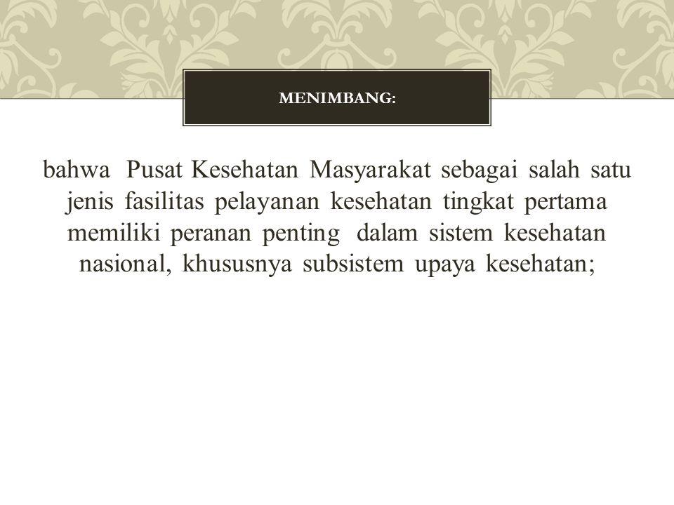 MENIMBANG: