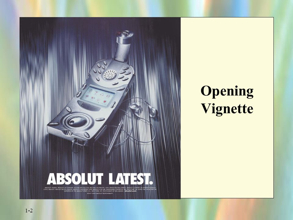 Opening Vignette