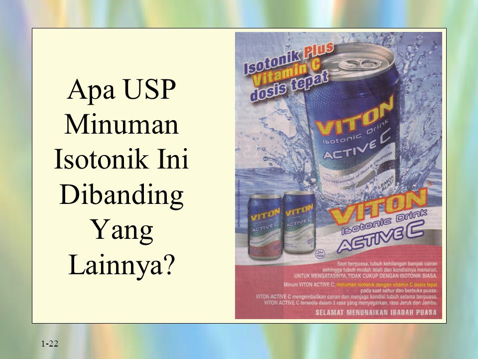 Apa USP Minuman Isotonik Ini Dibanding Yang Lainnya
