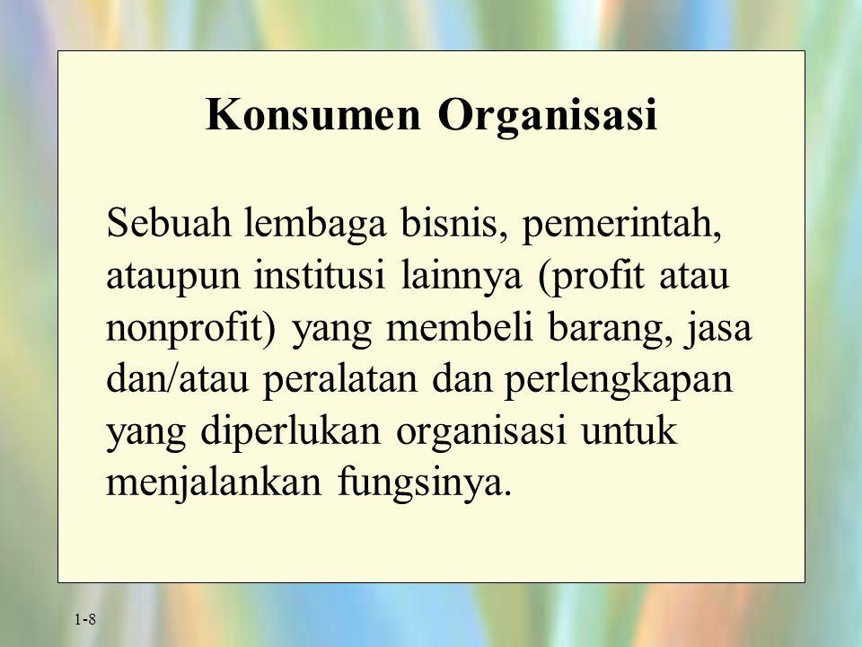 Konsumen Organisasi