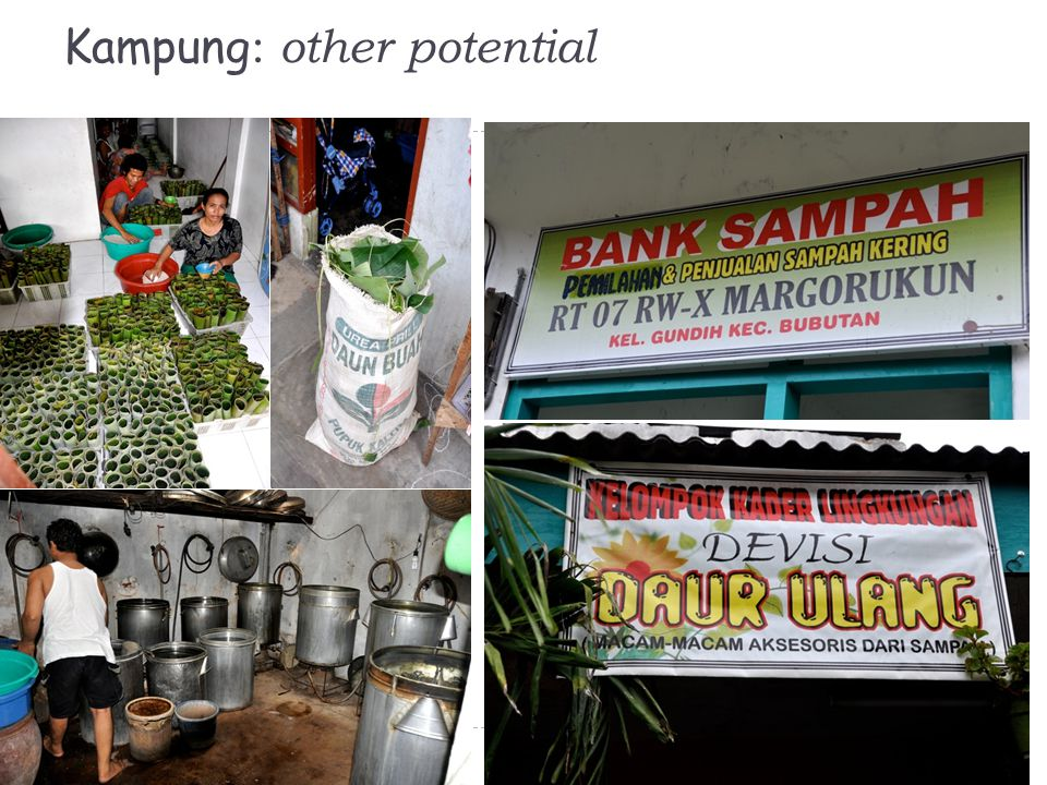 Kampung: other potential