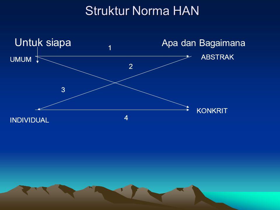 Struktur Norma HAN Untuk siapa Apa dan Bagaimana 1 ABSTRAK UMUM 2 3