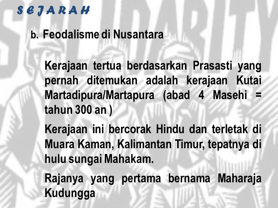 Feodalisme di Nusantara