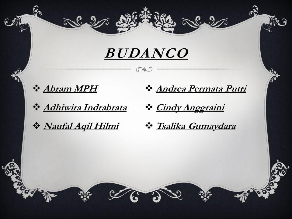 BUDANCO Abram MPH Andrea Permata Putri Adhiwira Indrabrata