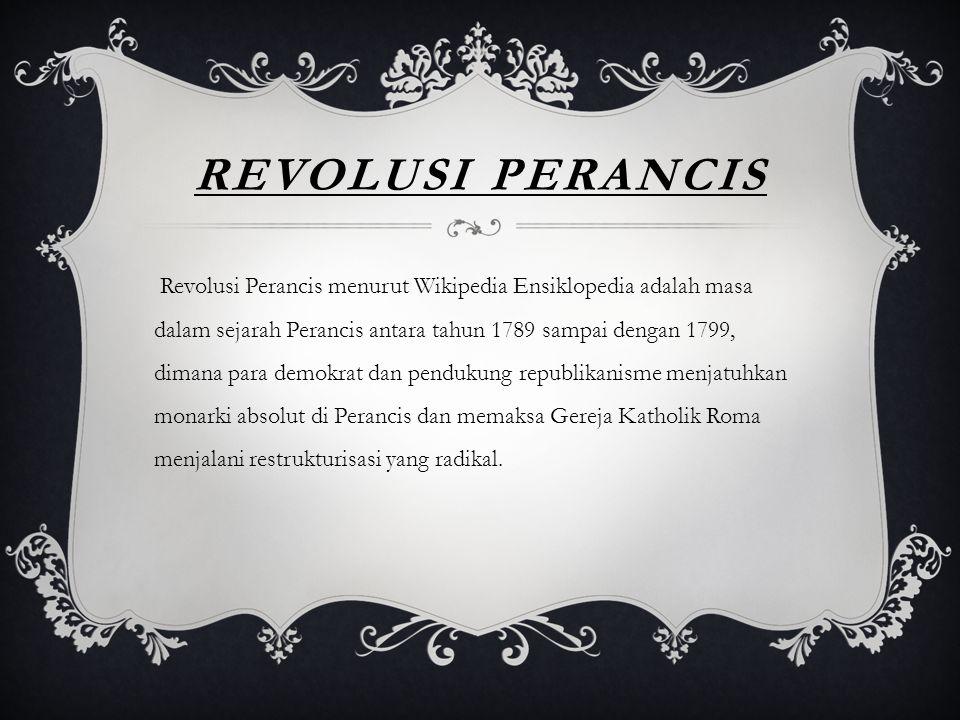 REVOLUSI PERANCIS