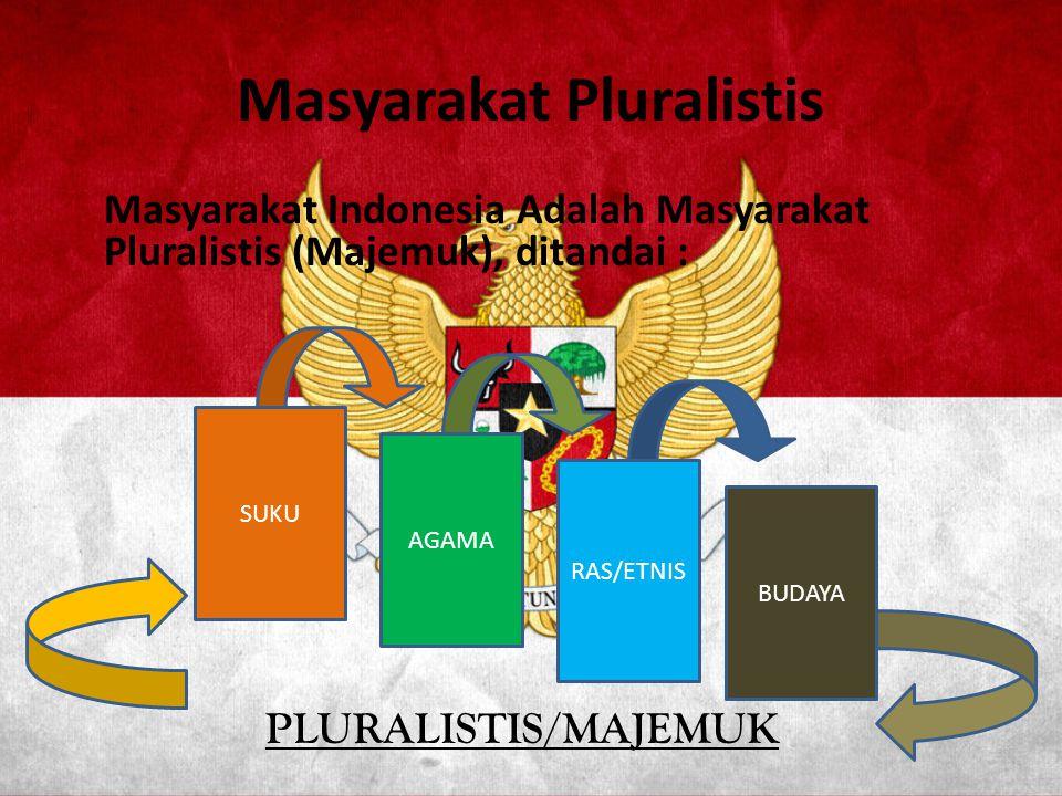 Masyarakat Pluralistis