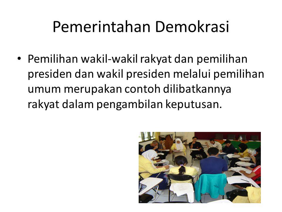 Pemerintahan Demokrasi