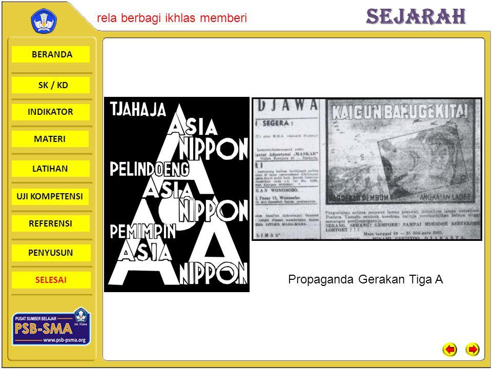 Propaganda Gerakan Tiga A