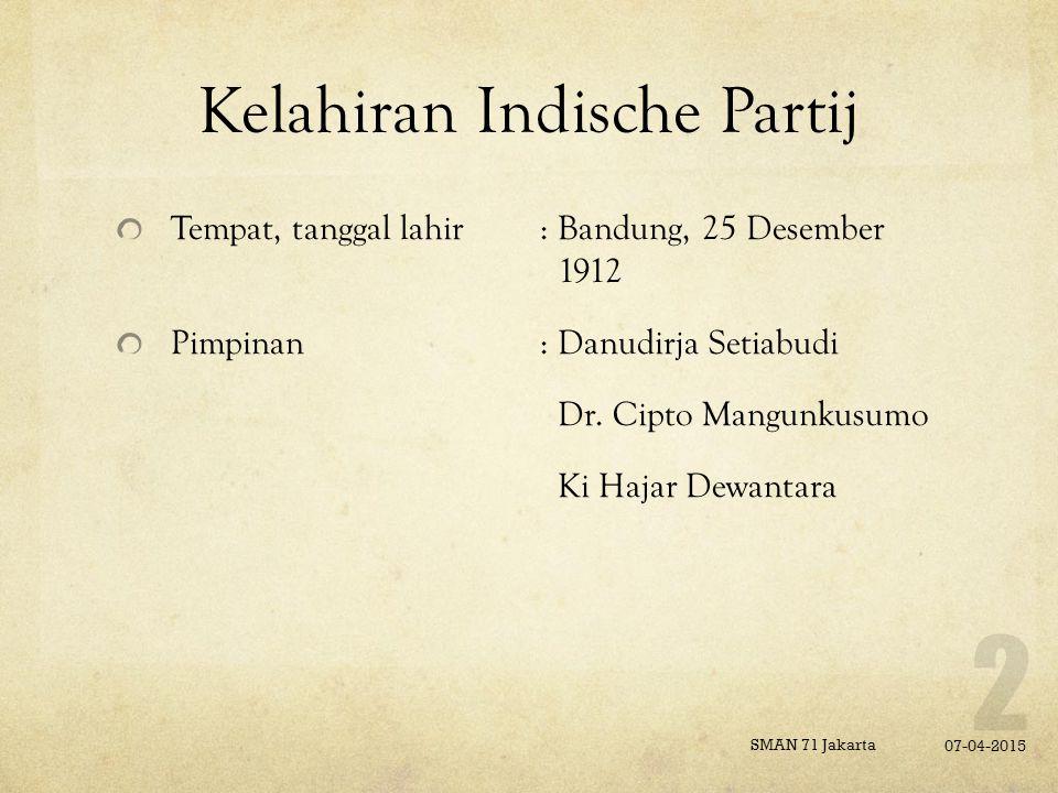 Kelahiran Indische Partij