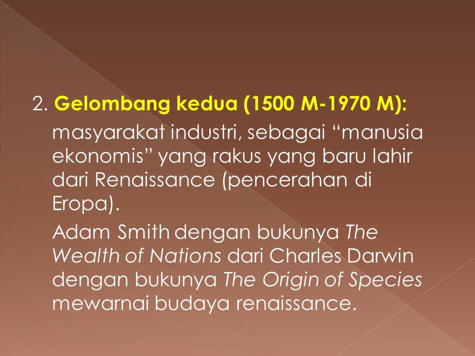 2. Gelombang kedua (1500 M-1970 M):