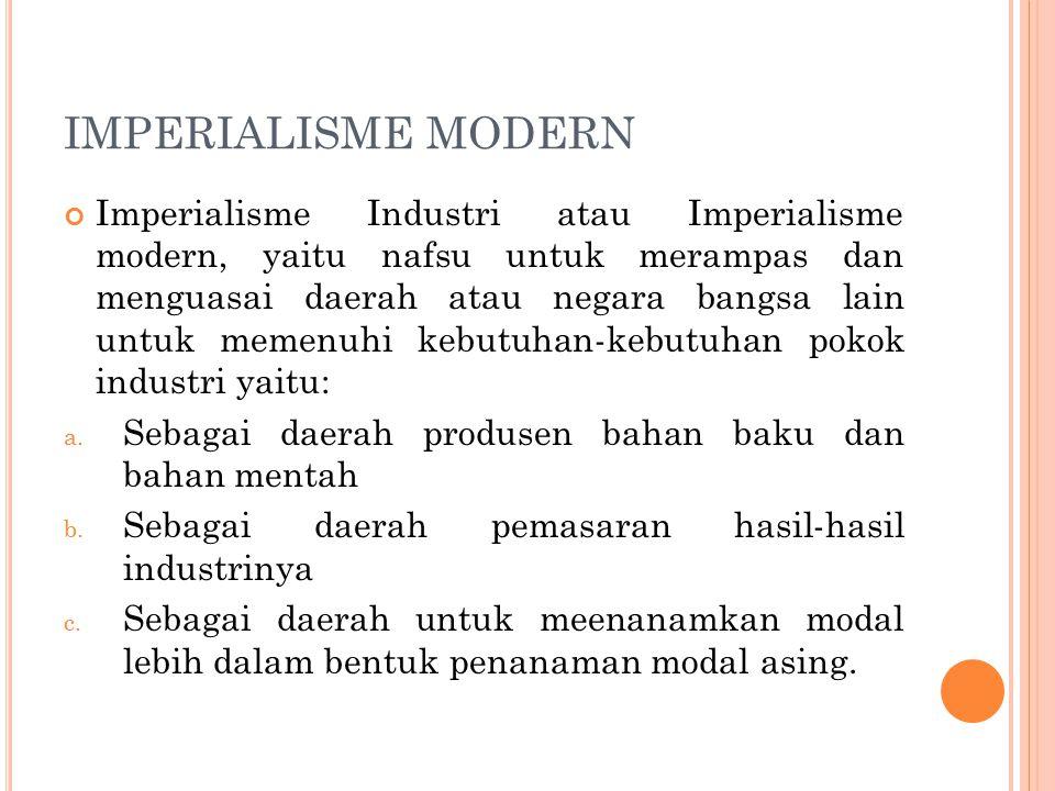 IMPERIALISME MODERN