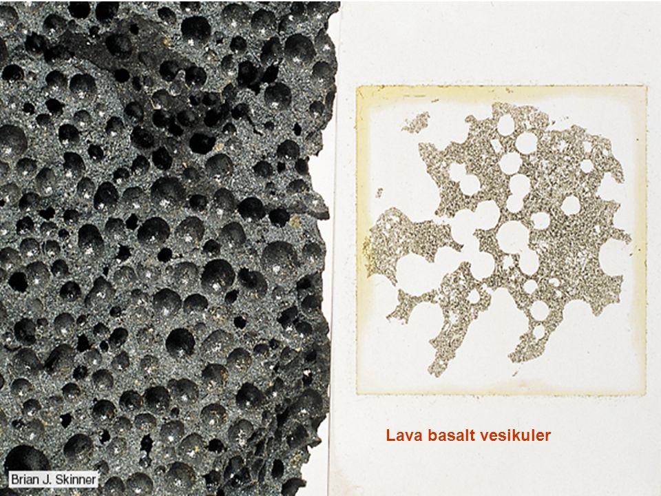 Lava basalt vesikuler