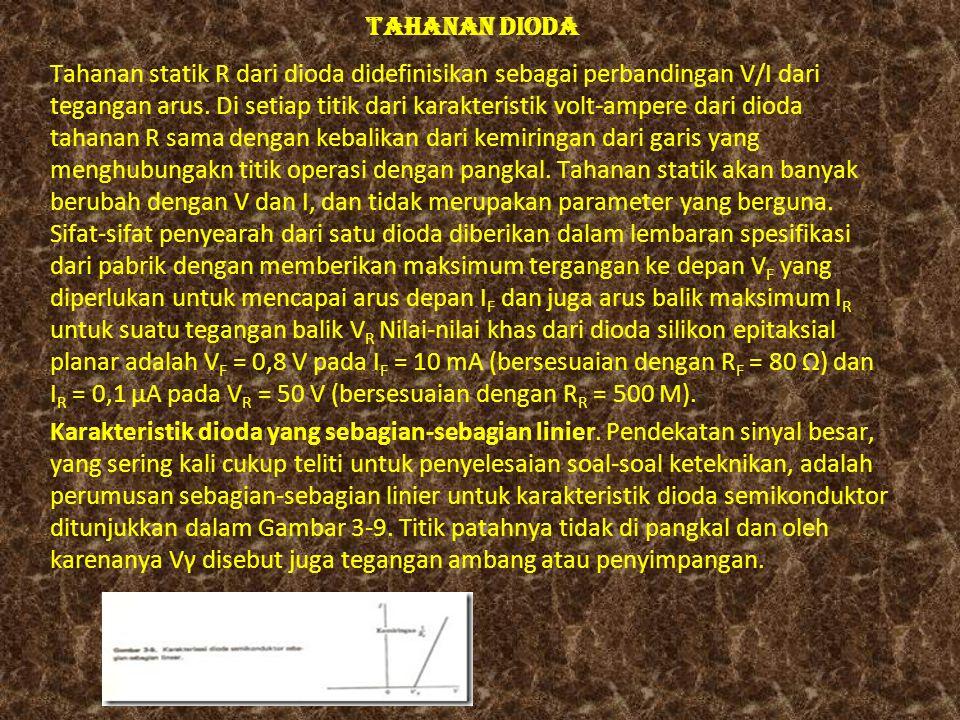 TAHANAN DIODA