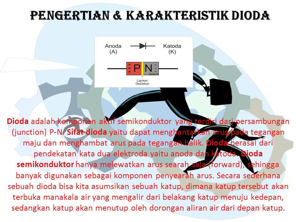 PENGERTIAN & KARAKTERISTIK DIODA