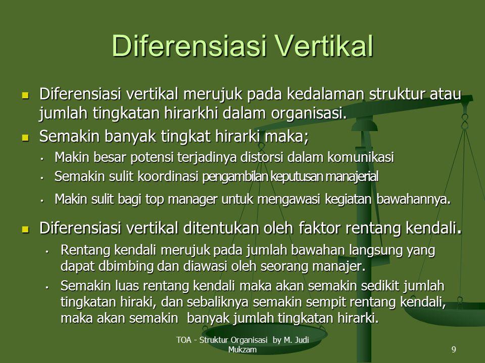 Diferensiasi Vertikal