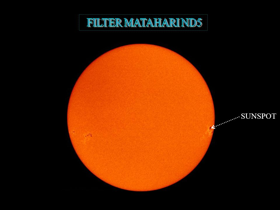 FILTER MATAHARI ND5 SUNSPOT