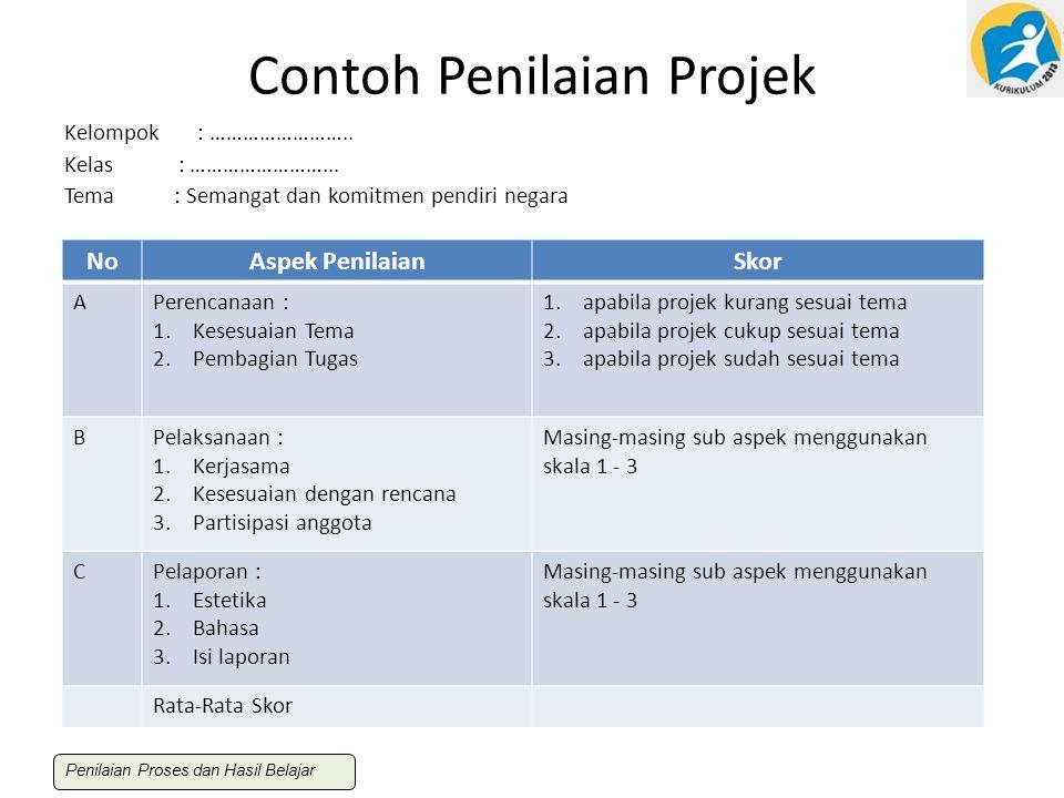 Contoh Penilaian Projek
