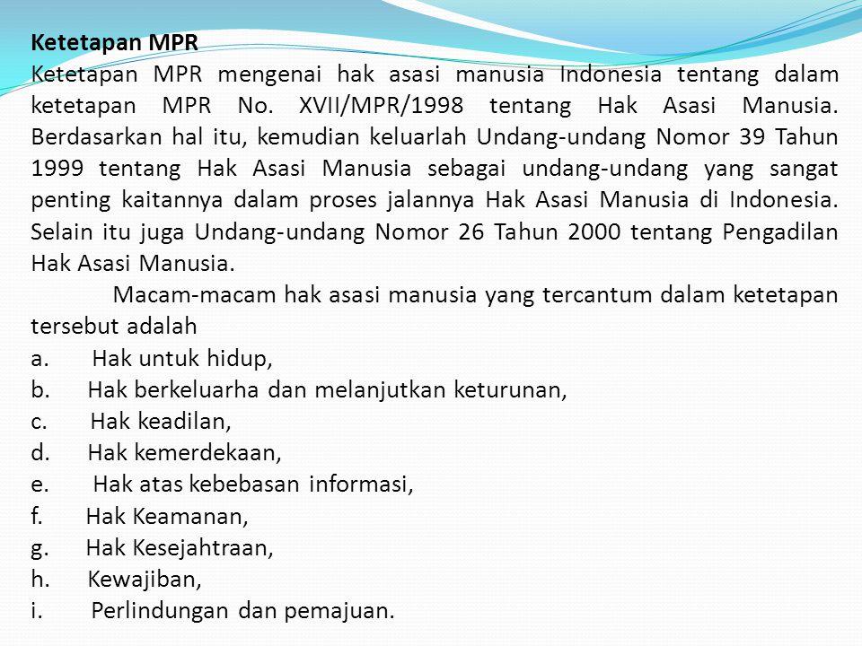 Ketetapan MPR