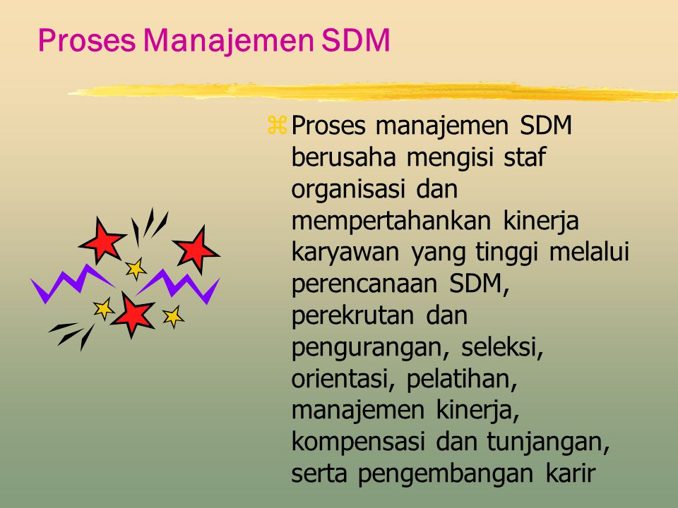 Proses Manajemen SDM