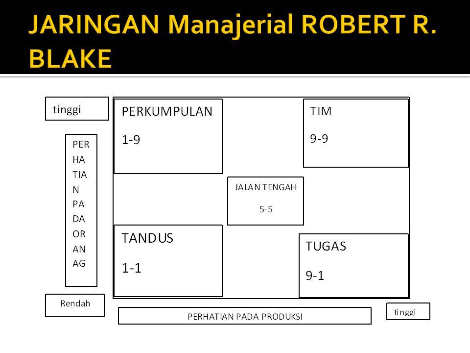 JARINGAN Manajerial ROBERT R. BLAKE