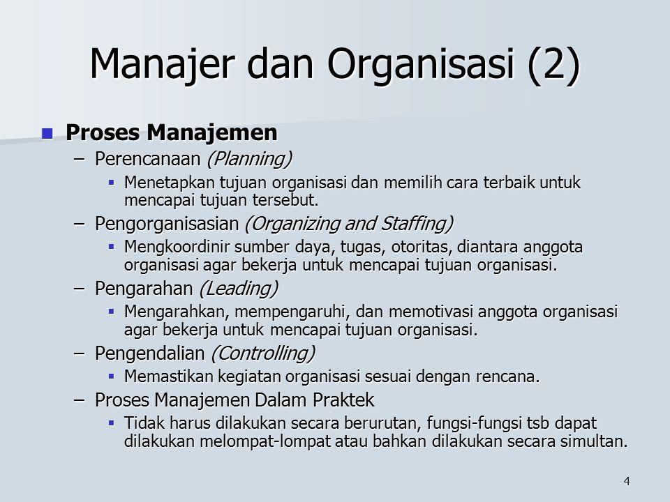 Manajer dan Organisasi (2)