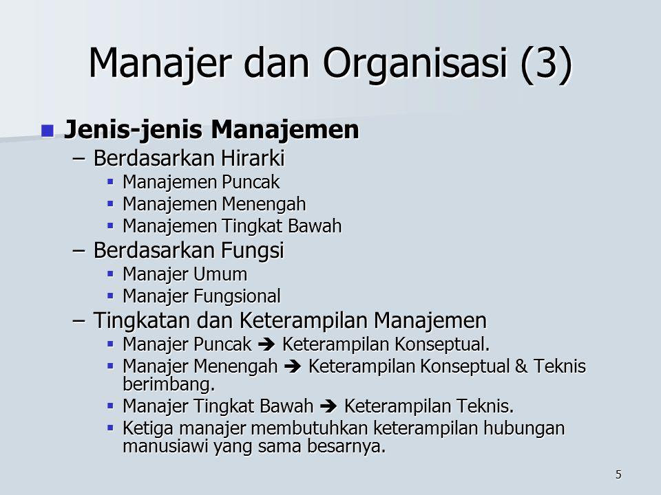Manajer dan Organisasi (3)