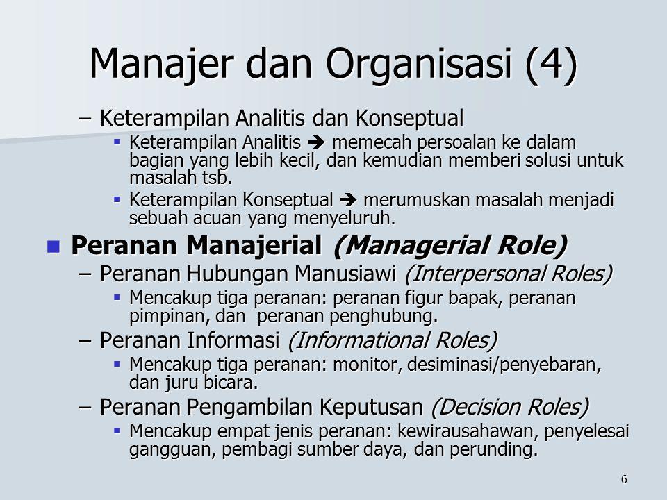 Manajer dan Organisasi (4)