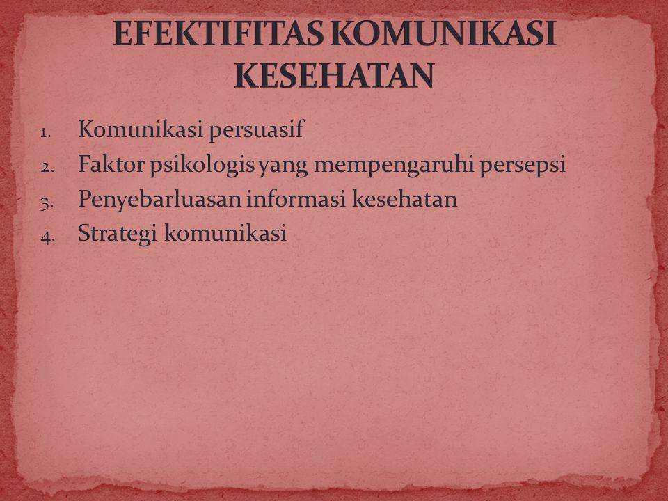 EFEKTIFITAS KOMUNIKASI KESEHATAN