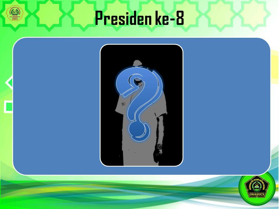 Presiden ke-8