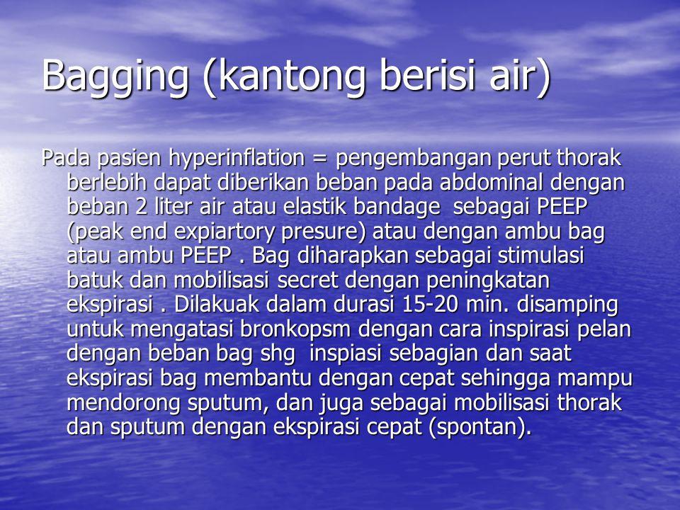 Bagging (kantong berisi air)