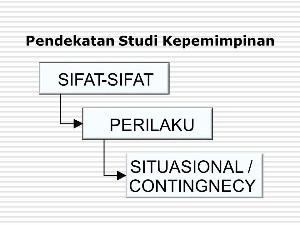 Pendekatan Studi Kepemimpinan