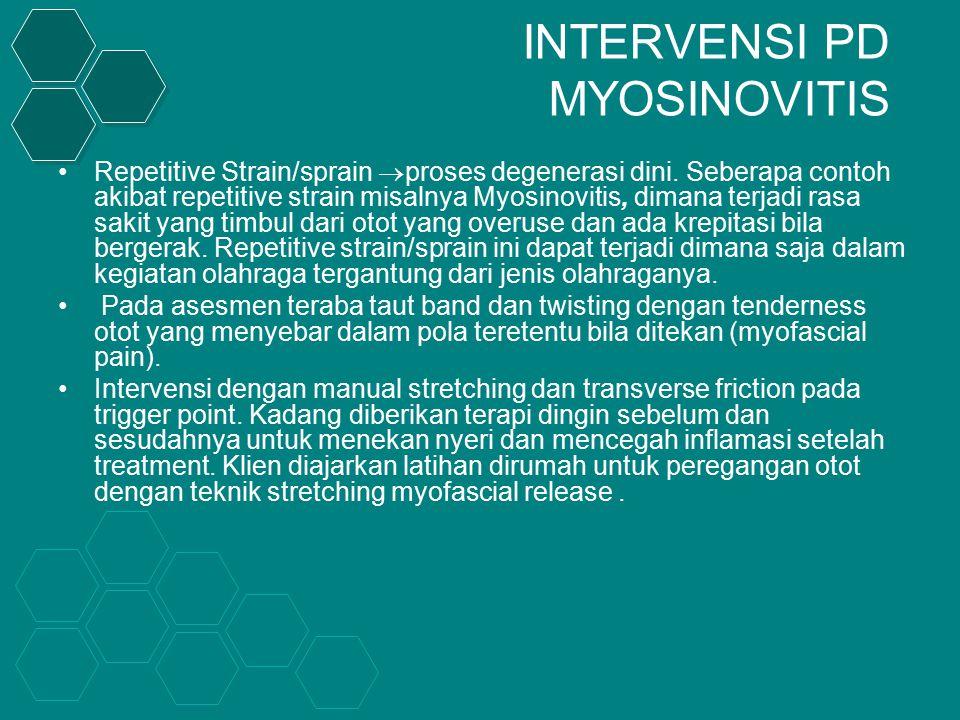 INTERVENSI PD MYOSINOVITIS