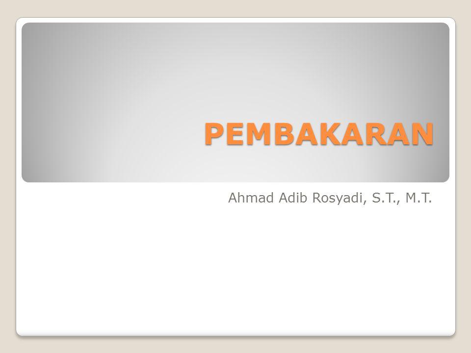 Ahmad Adib Rosyadi, S.T., M.T.