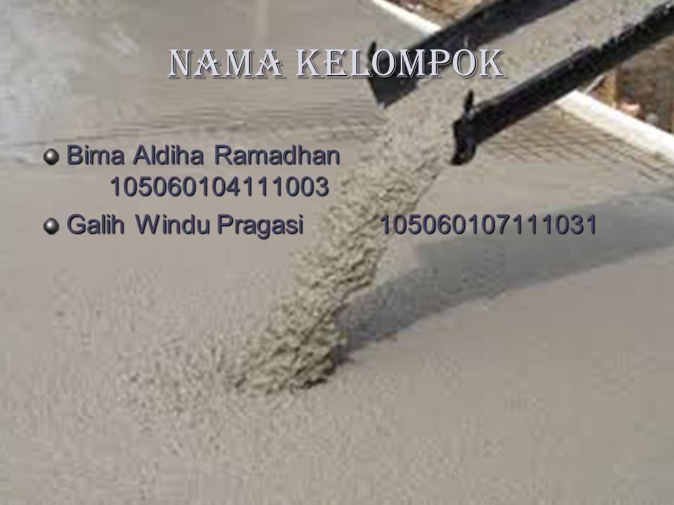 Nama Kelompok Bima Aldiha Ramadhan 105060104111003