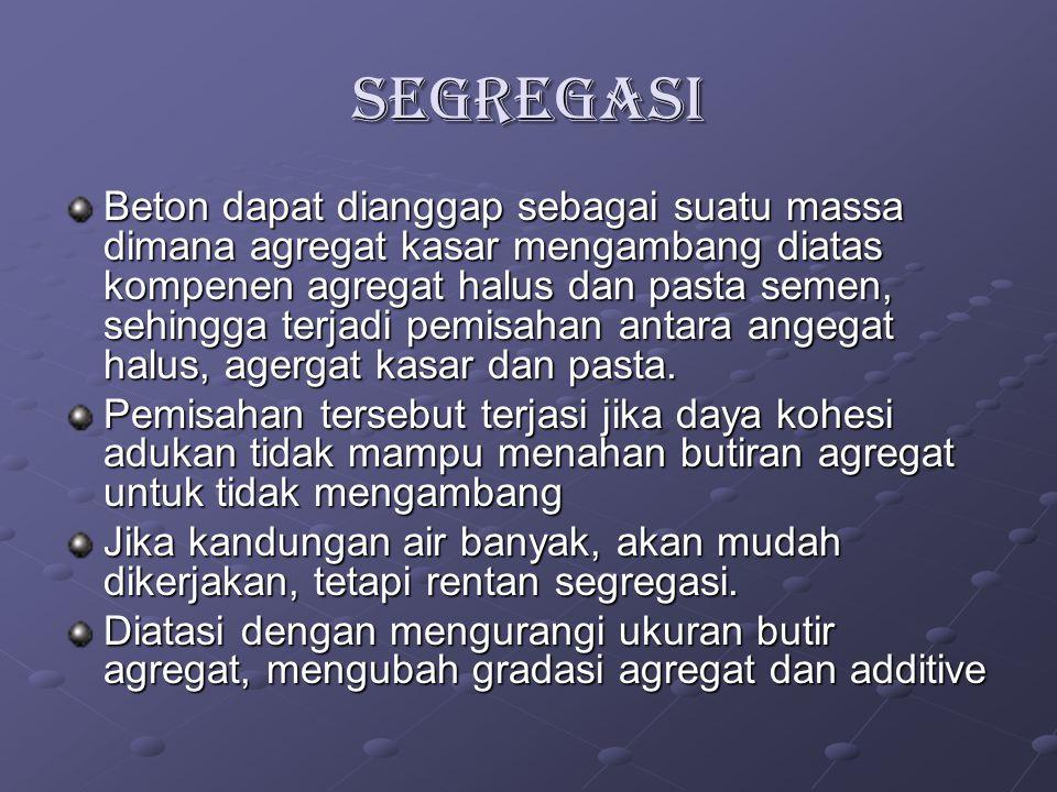 SEGREGASI