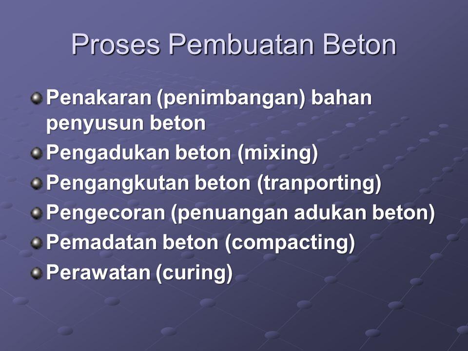 Proses Pembuatan Beton