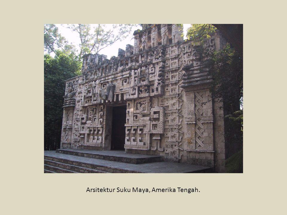 Arsitektur Suku Maya, Amerika Tengah.
